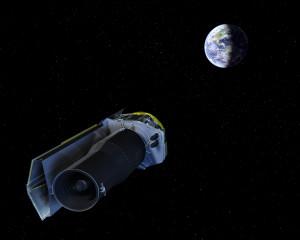 Spizter teleskopet (NASA/JPL-Caltech/R. Hurt (SSC) )
